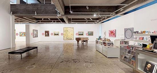Gallery shop explore a virtual tour