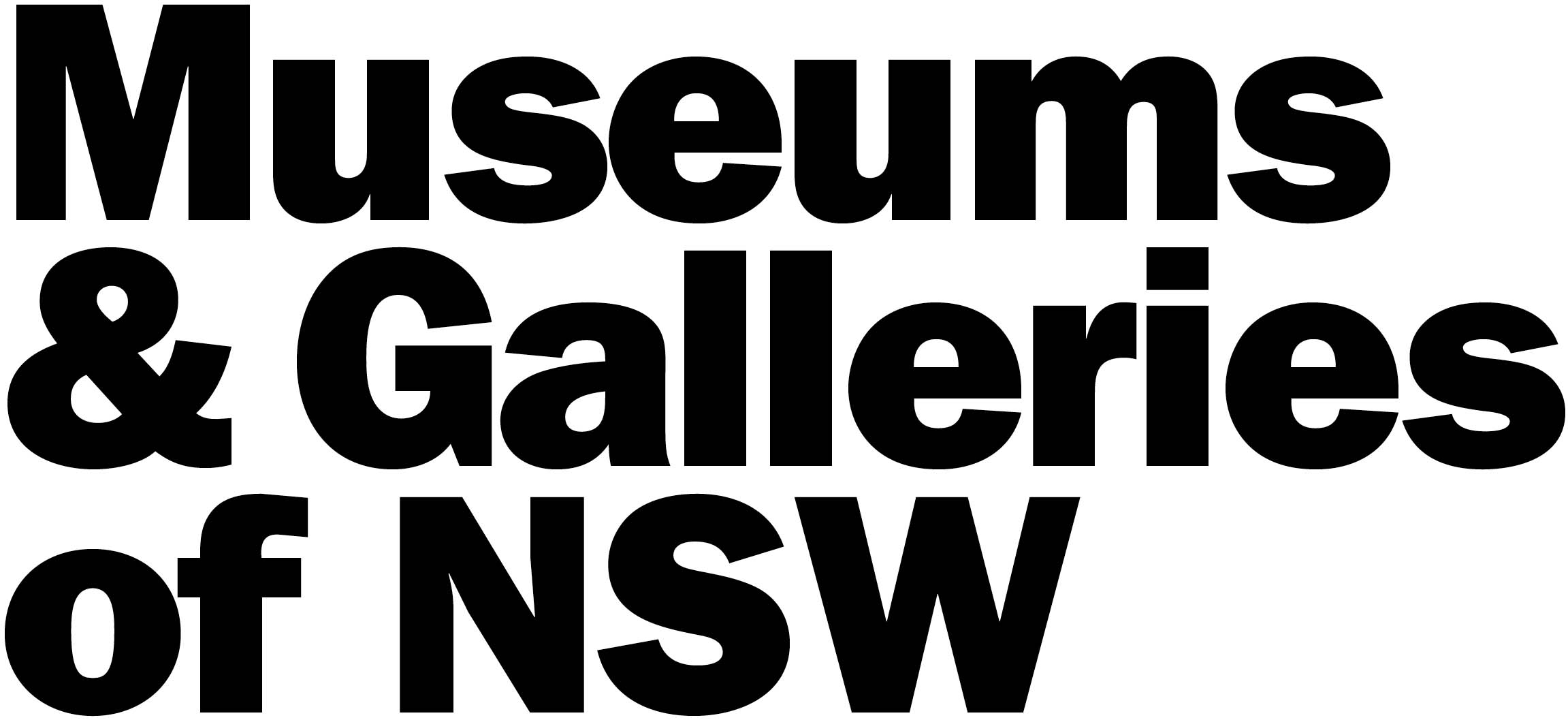 Museums and Galleries of NSW Logo